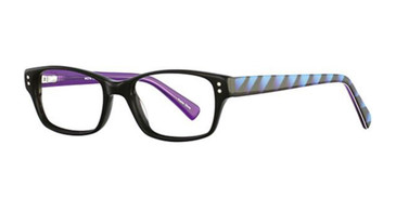 Black/Licorice K12 4089 Eyeglasses