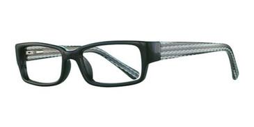 Black/Wave K12 4096 Eyeglasses - Teenager