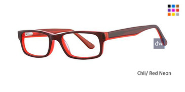 Chli/ Red Neon K12 4099 Eyeglasses