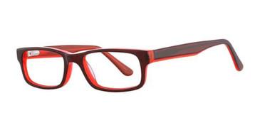 Chli/Red Neon K12 4099 Eyeglasses