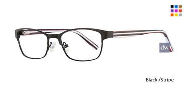 Black /Stripe K12 4102 Eyeglasses