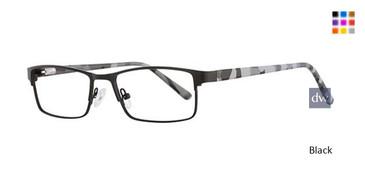 Black K12 4104 Eyeglasses - Teenager