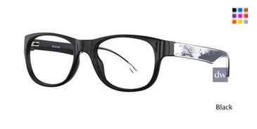 Black X21 4601 Eyeglasses.