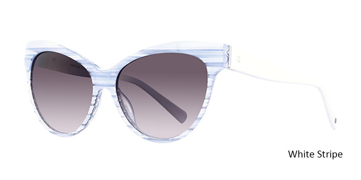 38ed754dee8 ... White Stripe Romeo Gigli S6100 Sunglasses