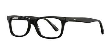 Black Elan 3002 Eyeglasses.