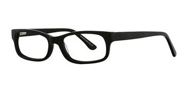 Black Elan 3003 Eyeglasses.