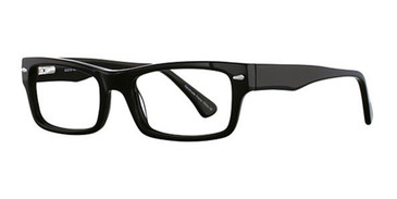 Black Elan 3006 Eyeglasses.