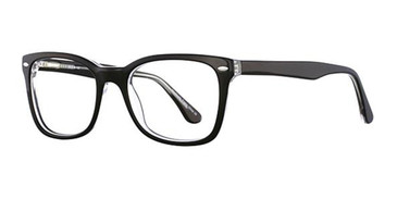Black/Crystal Elan 3008 Eyeglasses.