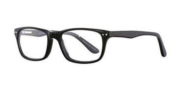 Black Elan 3010 Eyeglasses.