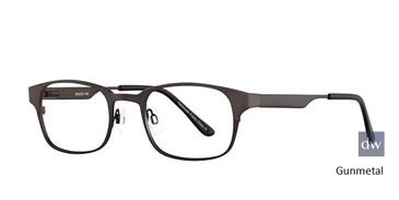 Gunmetal Elan 3015 Eyeglasses - Teenager