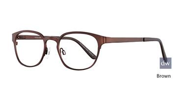 Brown Elan 3016 Eyeglasses