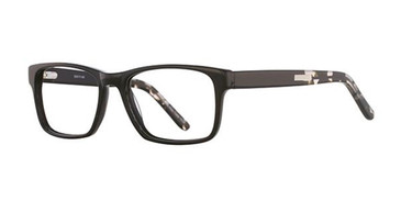Black/Grey Elan 3020 Eyeglasses.
