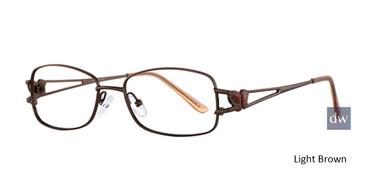 Light Brown Elan 3404 Eyeglasses
