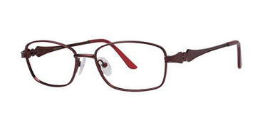Burgundy Elan 3405 Eyeglasses - Teenager.