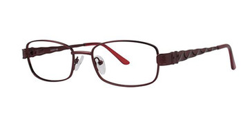 Burgundy Elan 3407 Eyeglasses
