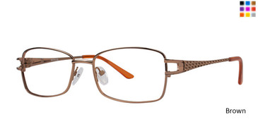 Brown Elan 3408 Eyeglasses