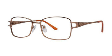 Brown Elan 3408 Eyeglasses.