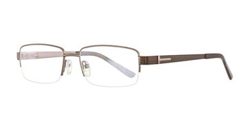 Brown Elan 3411 Eyeglasses.