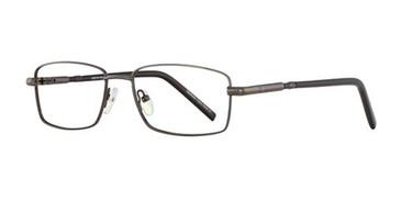 Dark Gunmetal Elan 3412 Eyeglasses.