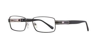 Black Elan 3413 Eyeglasses.