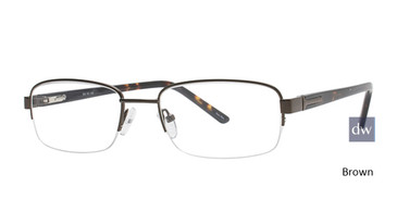 Brown Elan 9311 Eyeglasses