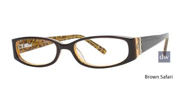 Brown Safari Elan 9413 Eyeglasses