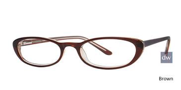 Brown Elan 9417 Eyeglasses