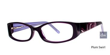 Plum Swirl Elan 9423 Eyeglasses