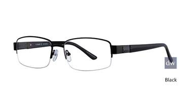 Black Elan 3701 Eyeglasses