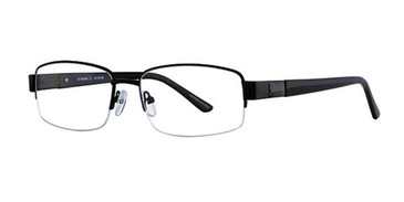 Black Elan 3701 Eyeglasses.