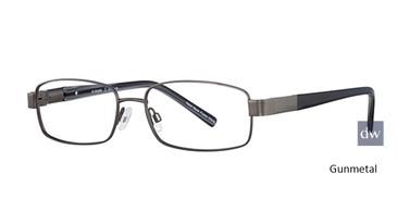 Gunmetal Elan 3702 Eyeglasses