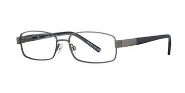 Gunmetal Elan 3702 Eyeglasses.