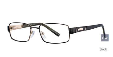 Black Elan 3703 Eyeglasses