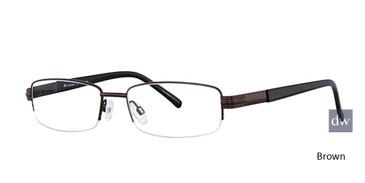 Brown Elan 3704 Eyeglasses