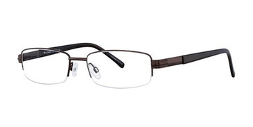 Brown Elan 3704 Eyeglasses.