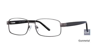 Gunmetal Elan 3705 Eyeglasses