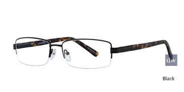 Black Elan 3706 Eyeglasses