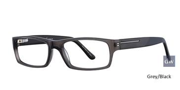 Grey/Back  Elan 3707 Eyeglasses