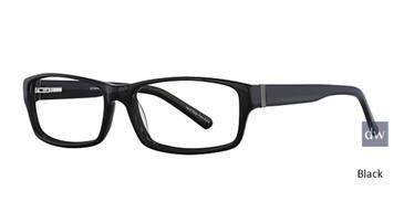 Black Elan 3709 Eyeglasses