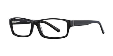 Black Elan 3709 Eyeglasses.