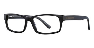 Black Elan 3710 Eyeglasses.