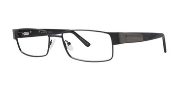 Black Elan 3712 Eyeglasses.
