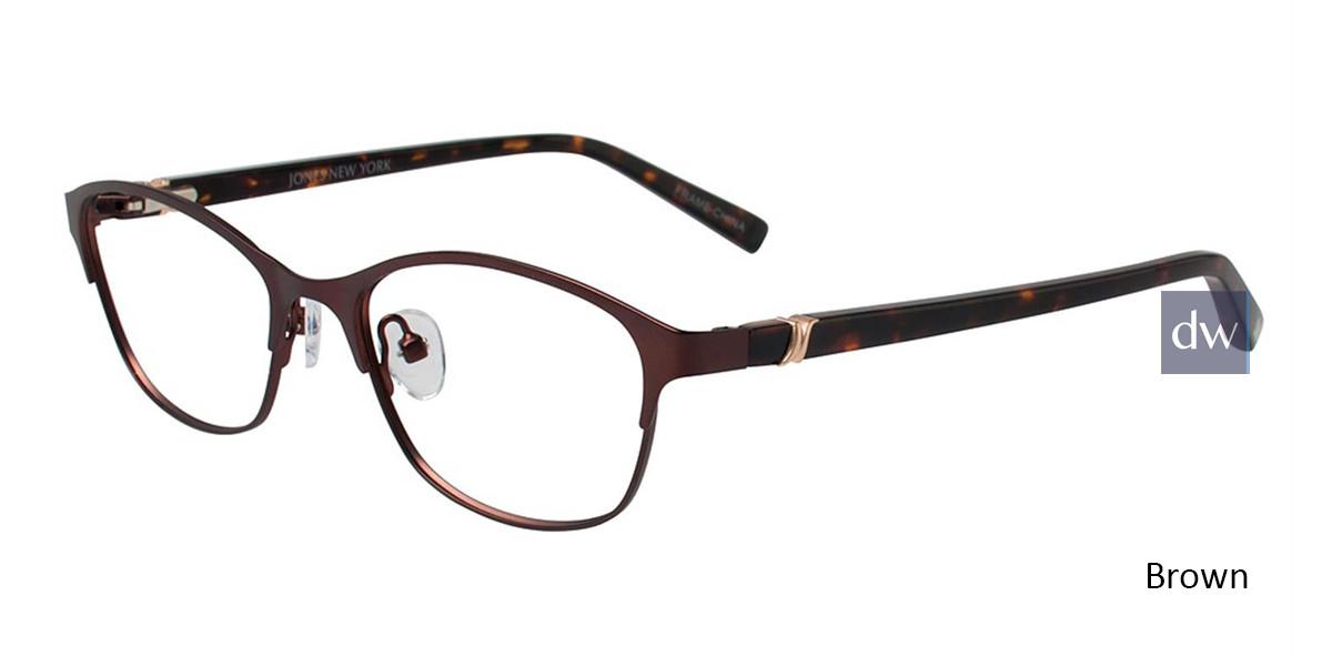 Brown Jones New York Petite J138 Eyeglasses - Teenager.