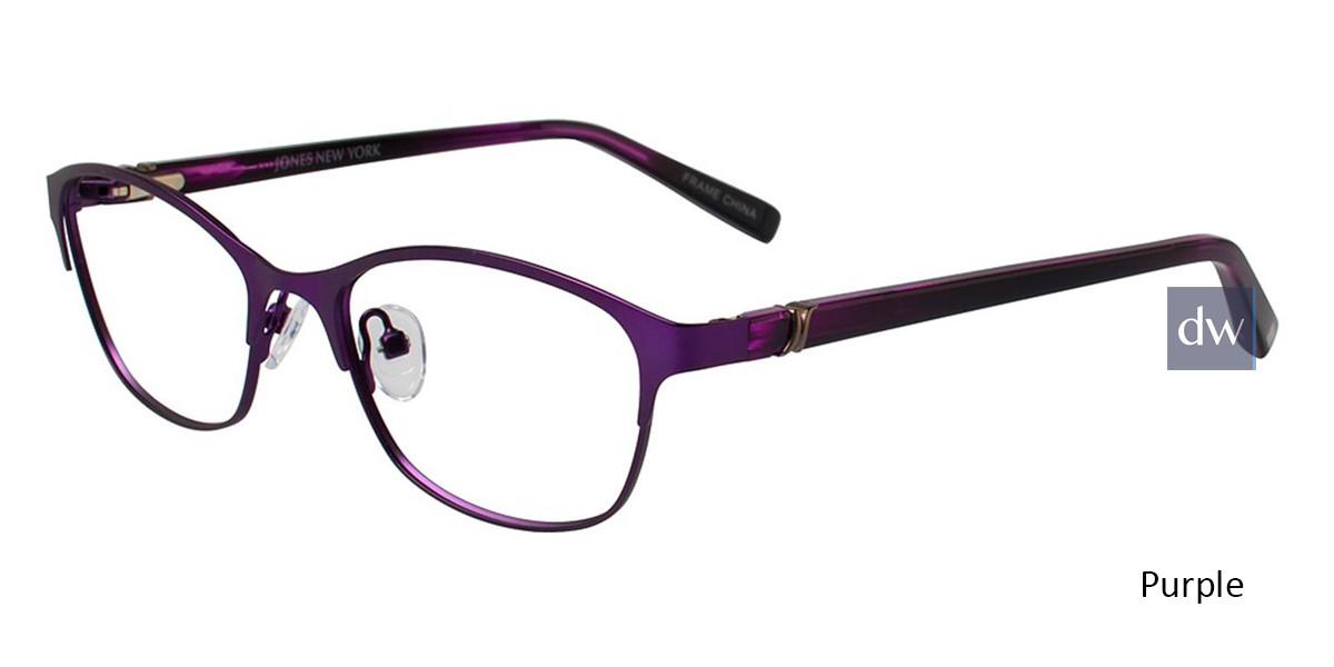 Purple Jones New York Petite J138 Eyeglasses - Teenager.