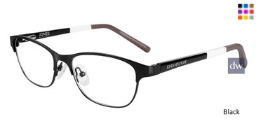 Black Jones New York Petite J147 Eyeglasses - Teenager.