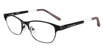 Black Jones New York Petite J147 Eyeglasses - Teenager.