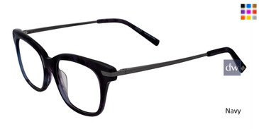 Navy Jones New York Petite J233 Eyeglasses - Teenager.