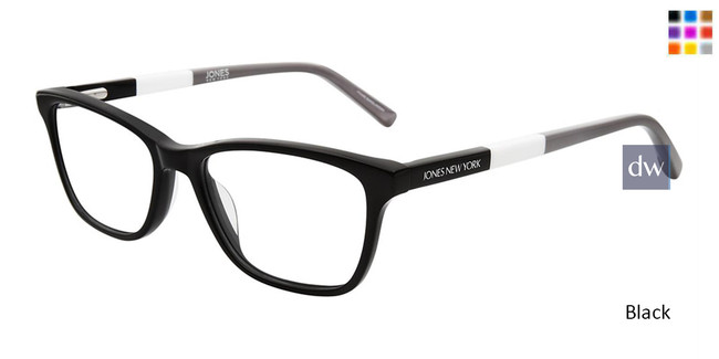 Black Jones New York Petite J236 Eyeglasses - Teenager.