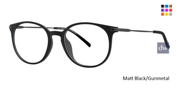 Matt Black/Gunmetal Vivid Ultem 2021 Eyeglasses - Teenager.