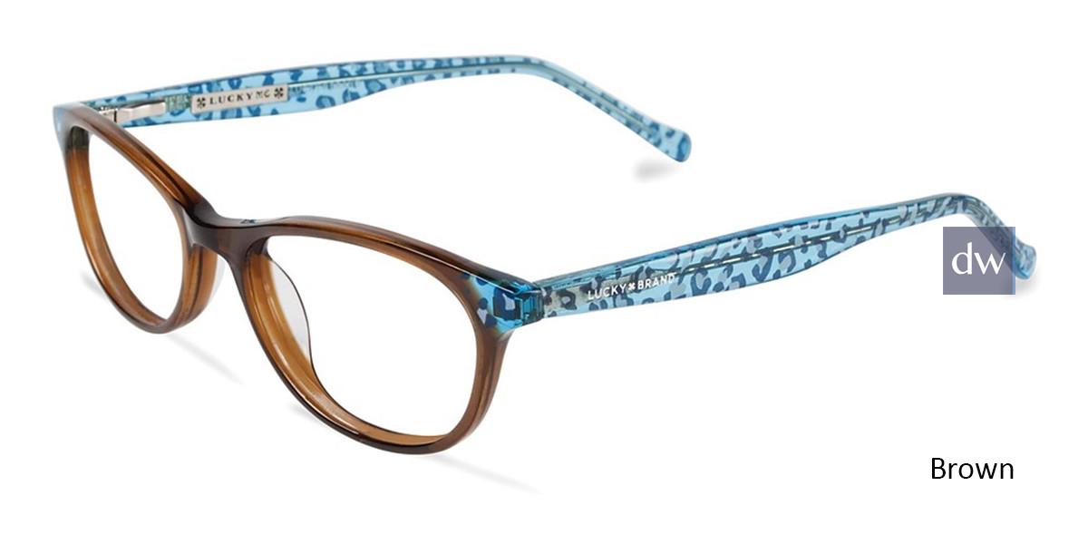 Brown Lucky Kid D700 Eyeglasses